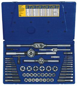 Irwin hanson Irwin Hanson AHN24640 54 PC FRAC TAP & DIE SET