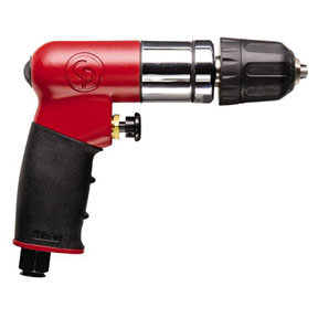 "Chicago Pneumatic 1/4"" Dr Reversible Mini Drill"