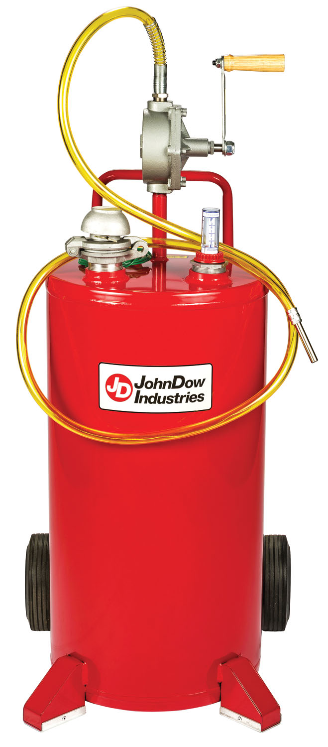 John Dow Industries 25-Gallon Steel Gas Caddy - UL Listed