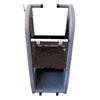 Auto Meter Products Deluxe Equipment Cart with Front Casters And Bottom Compartment
