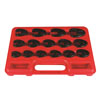 Astro Pneumatic 15pc. Professional Metric Crowfoot Wrench Set
