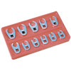 ATD Tools Crowfoot Wrench Set - Metric, 11pc.