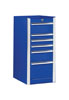 "Extreme Tools 16"" 6 Drawer Side Box, Blue"