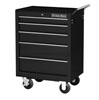 "Extreme Tools 26"" 5 Drawer Roller Tool Cabinet, Black"