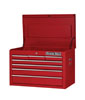 "Extreme Tools 26"" 7 Drawer Top Chest, Red"