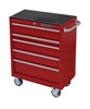 "Extreme Tools 30"" Standard Roller Cart- Red"
