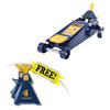 Hein-Werner Automotive 3Ton HD SUV Service Jack w/ FREE 3Ton Capacity Jack Stands