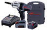 "Ingersoll Rand 1/2"" Drive Impact Wrench w/ Extended Anvil, Charger, & Two Batteries"