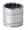 GearWrench ½½ Dr. 12 Pt. Std. Metric Socket, 16mm
