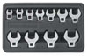 GearWrench 11 pc. SAE Crowfoot Wrench Set