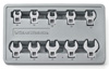 GearWrench 10 pc. Metric Crowfoot Wrench Set