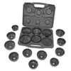 Lisle 17 Piece Heavy Duty End Cap Filter Wrench Set