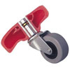 """Lisle 2"""" Pop-In Wheels for Low Profile Plastic Creepers"""