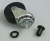 """Lisle 2"""" Replacement Wheel Rubber Wheel For Steel Creeper"""