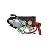 Mastercool R134a A/C Kit w/Brass Manifold Pump & Detector